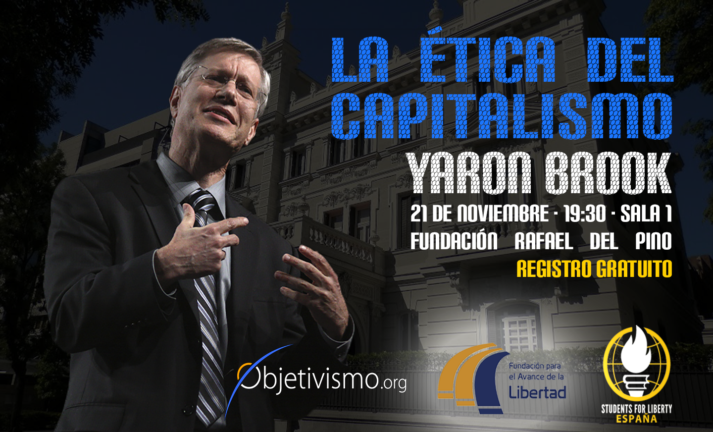 Conferencia de Yaron Brook