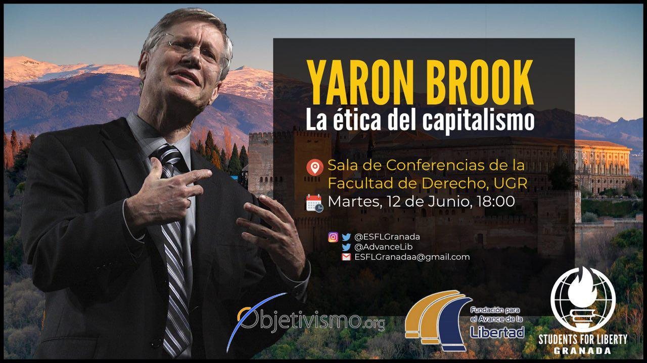 Yaron Brook Conference Granada