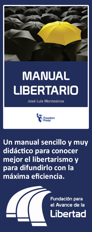 Manual libertario, de José Luis Montesinos