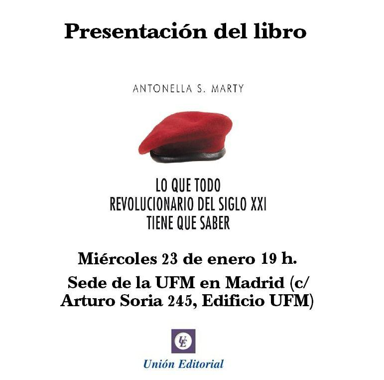 Presentación libro Antonella Marty